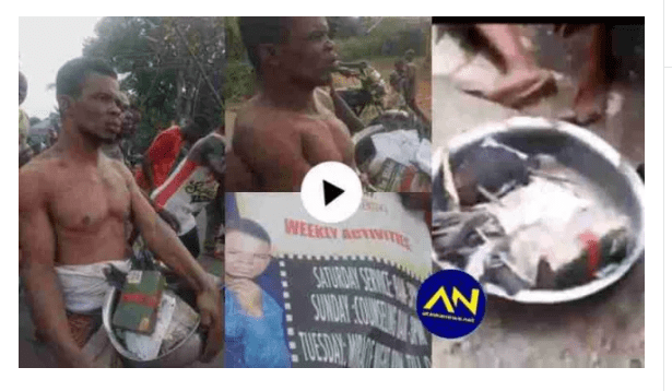 Pastor caught with juju, women's underwear inside church