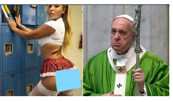 Pope Francis likes bikini model on Instagram