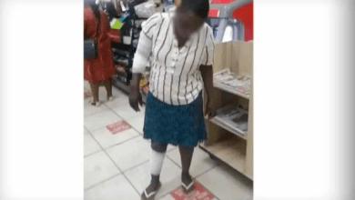 40 year old woman set on fire for stealing meat