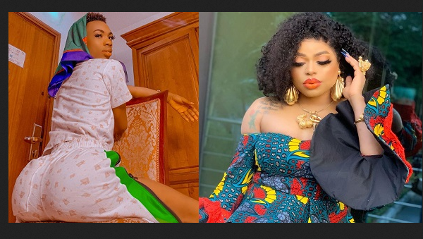 """""""Auntie Nobody Is Fighting For Your Throne"""" – James Brown Assures Bobrisky Following His Warning To Upcoming Crossdressers"""
