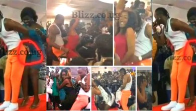 Diamond Platnumz Caught Fingering Female Fan's on Stage