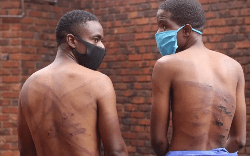 Soldiers Severely Torture Two Men Who Were Praying On A Mountain