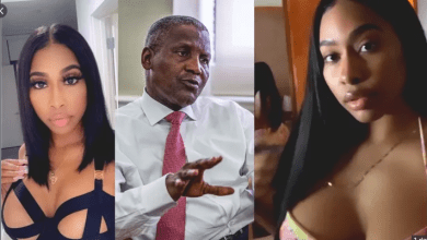 Richest man in Nigeria, Dangote and his Slay Queen bedroom video leaks online