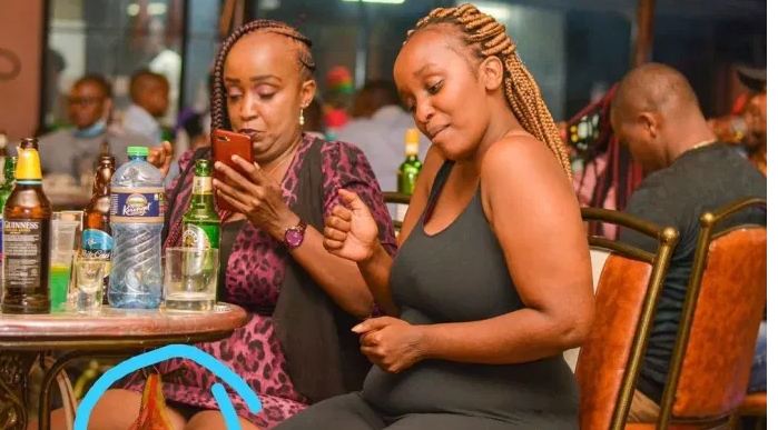 PHOTO: See what these low quality slay queens carried to the club! LOL!!