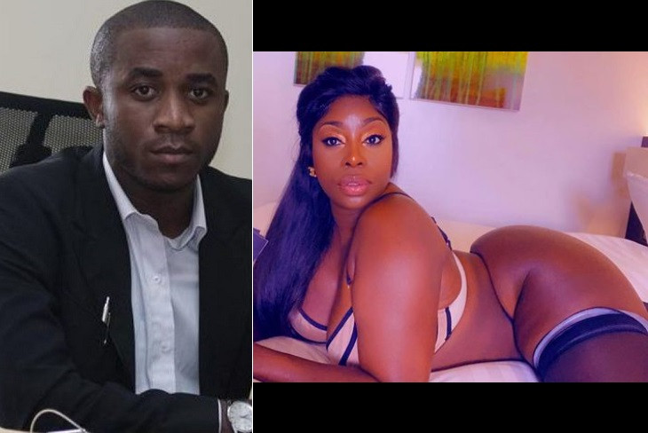 """""""I love him, I want to come visit him in Jail"""" - American model/stripper, Symba shows support for Nigerian convicted fraudster, Invictus Obi"""