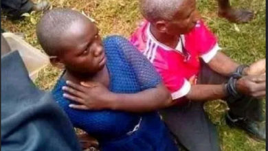 DRAMA in the Village as an elderly man is caught red-handed chewing his son's wife – (PHOTOs)