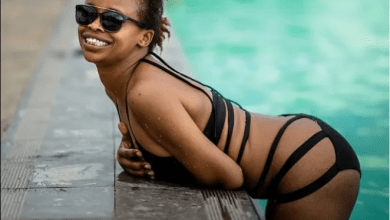 Nation FM presenter, Tina Kaggia paraded 5 GB of Booty as she celebrated Valentine's Day alone