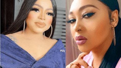 Useless Transgender Bobrisky slams Rosy Meurer over her recent video denying being the reason for Tonto Dikeh and Churchill's split