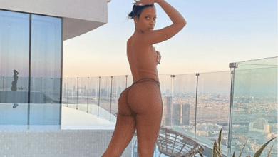 Socialite Katrina runs mad after sharp shooting dude bonks and abandons her in Dubai hotel, cries out on Instagram to pals to send her clothes