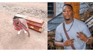 Popular Kenyan musician Japesa buys his own coffin
