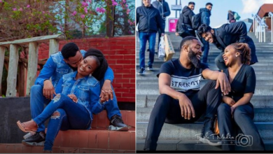 'You brought colour into my world' Comedian Woli Arole releases stunning pre-wedding photos, to tie the knot in April