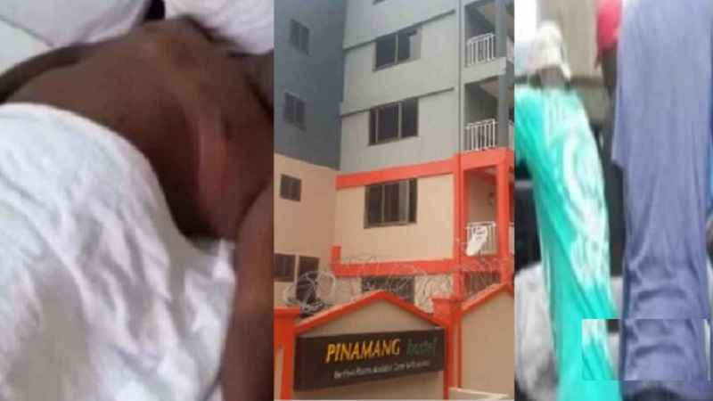 Watch Sugar daddy allegedly faints and dies while bonking his side chick at University hostel