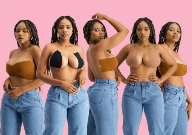 what slay queens use to support their fallen boobs