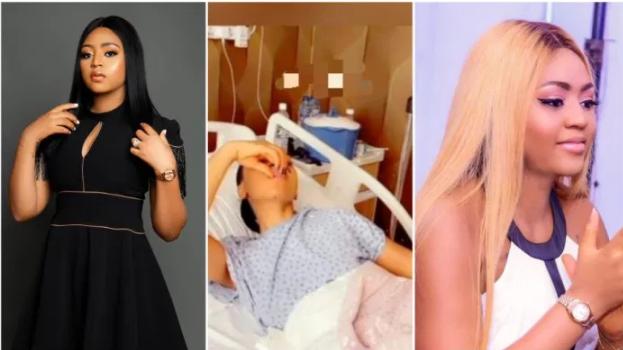 Nollywood actress Regina Daniels hospitalised again weeks after surgery