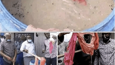 Shock As Food Vendor Is Arrested For Using Her Dirty Panties To Prepare Her Meals- PHOTOS