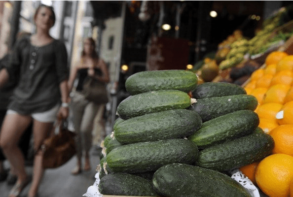 Couple Fight over Giant Cucumber Found in Girlfriend's Belongings