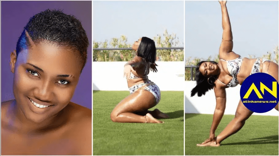 Abena Korkor drops jaws as she displays wild naked moves in new bad girl video