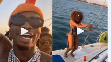 Diamond Plantinumz Fills His Yacht With Brown Babes As He Celebrates Buying 2Bn Rolls Royce