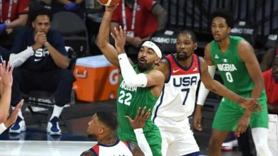 Nigeria shocks U.S. men's basketball team with 90-87 win, the US team's first ever loss to an African Nation (photos)