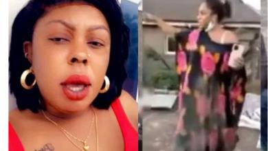 Nana Akua Addo Ran Away As Mentally Unstable Moesha Boduong Grabbed Afia Schwar and Slap her During Visit – Details