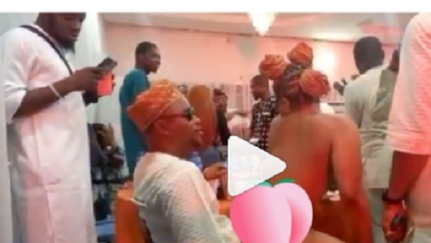 Strippers invited to a naming ceremony in Lagos