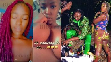 Ziza Bafana Video Vixen and Upcoming Singer Belta K Leaks Own Nude Pics & Videos
