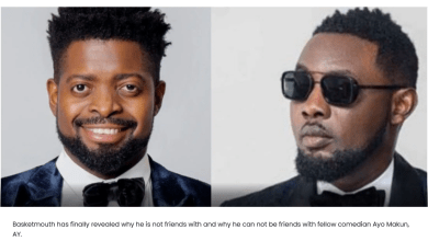 Why Comedian AY and I can not be friends – Basketmouth spills