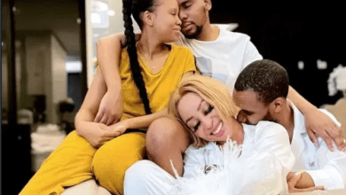 Pictures: Lasizwe is more than ready to expose Khanyi Mbau's abusive boyfriend