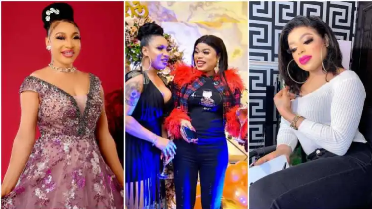 Please forgive me – Bobrisky apologises to Tonto Dikeh after fight on Instagram