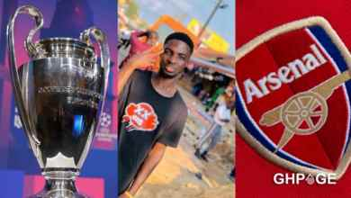 Until Arsenal wins the Champions League, I will never marry – Man vows