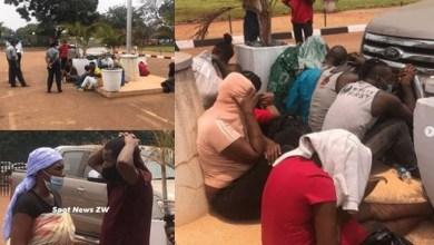 10 men, 6 women arrested as police raid sex party in Zimbabwe
