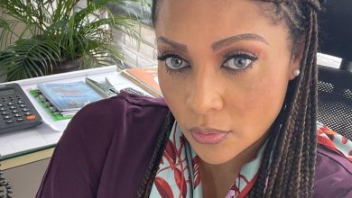 """""""If your husband leaves his clothes on the floor, it's OK to throw them in the trash"""" Lola Omotayo playfully offers marriage advice"""