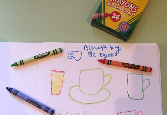 Cup of Crayons