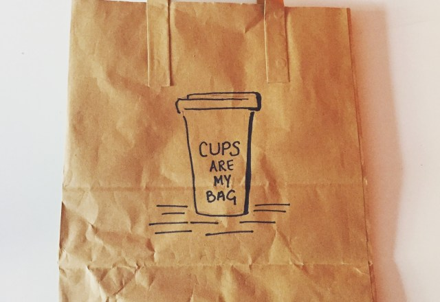 Brown Bag Cup