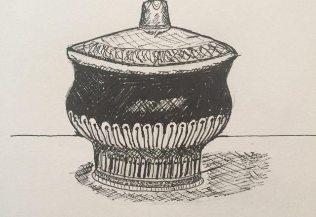 Mongolian Tea Cup
