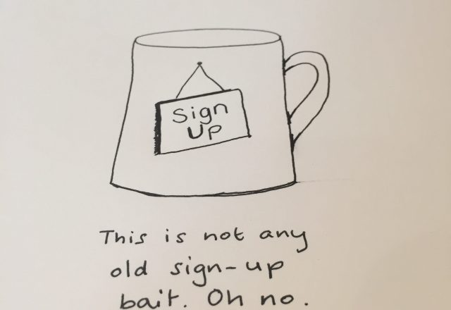 Sign Up Cup