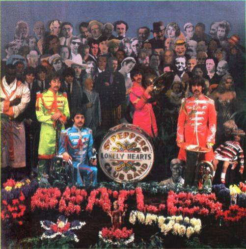 Cover shoot for Sgt Pepper (10)