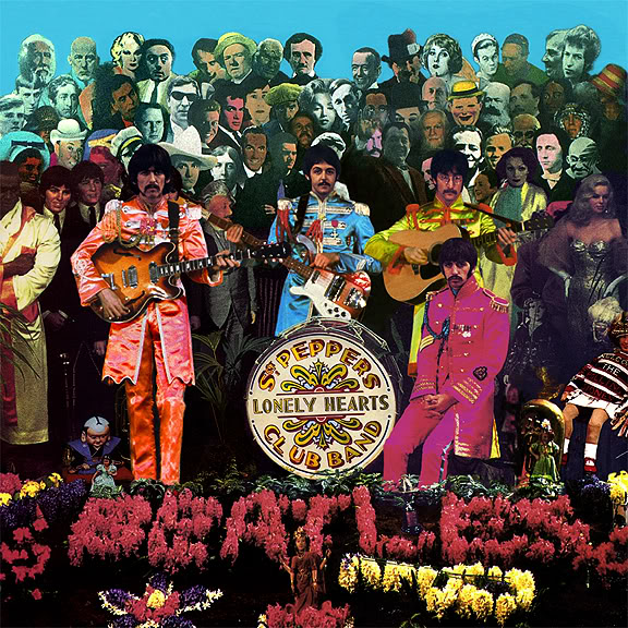 Cover shoot for Sgt Pepper (2)