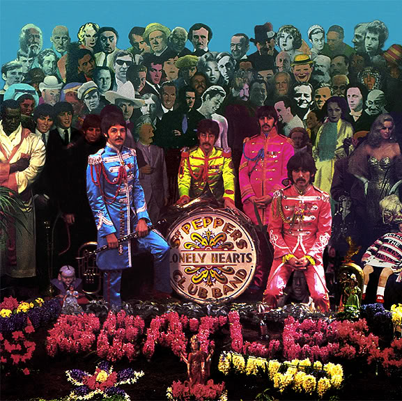 Cover shoot for Sgt Pepper (4)