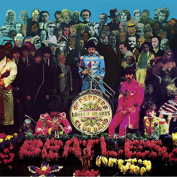 Cover shoot for Sgt Pepper (5)