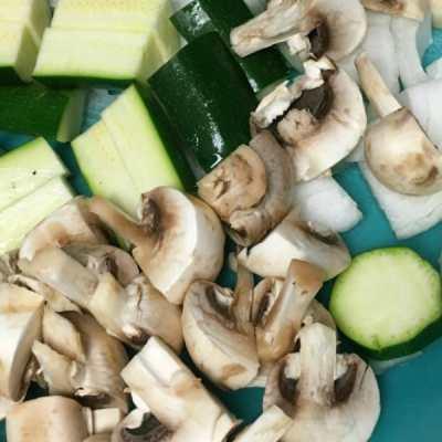 Quick Tepanyaki Style Veggies at Home