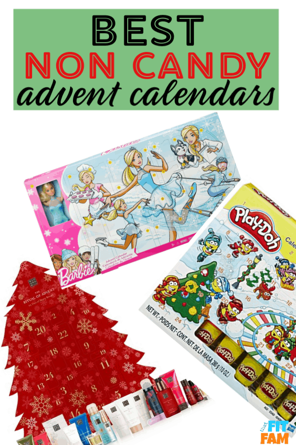 Top Non Candy Advent Calendars That Fit Fam