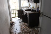 Some bozo stripped all the copper off the electrical. Seriously?!
