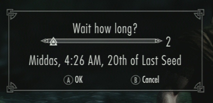 Skyrim: Four Quick Thoughts on the UI's Usability