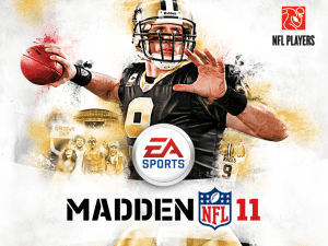 Madden 11 splash screen
