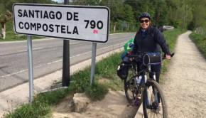 caminho de santiago de compostela de bicicleta