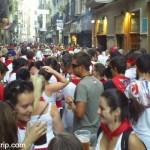 Como é a festa de San Fermín na Espanha?