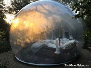 Bubble hotel França