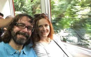 Floresta da Tijuca no trem do Corcovado