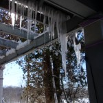Icicles to put your eye out!